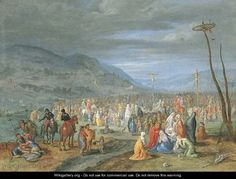 * Jan Brueghel II (de Jonge) - - - Calvary