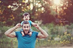 Beautiful photo of the week at I Heart Faces. A sweet family photo of a father and son by Julia Ross Photography. iHeartFaces.com #photography