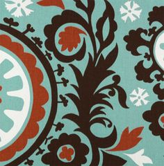 Suzani Village / Natural | Online Discount Drapery Fabrics and Upholstery Fabric Superstore!