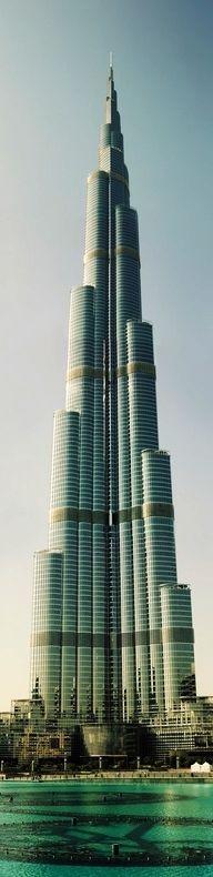 Burj Khalifa-Burj Khalifa, known as Burj Dubai prior to its inauguration, is a skyscraper in Dubai, United Arab Emirates, and is the tallest man-made structure in the world, at 829.8 m #dubai #uae