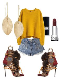 """Navajo"" by megmdesigns on Polyvore featuring Dsquared2, H&M and Lulu*s"