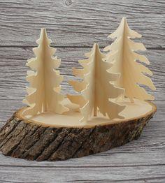 Birch Trees Table Decor