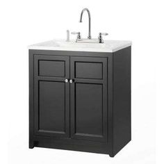 Around 250 Exquisite Utility Sink And Cabinet Kit 040