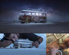 Photographer and graphic artist Felix Hernandez Rodriguez creates unique highly-detailed miniatures and with the help of clever editing and special effects. In his works, Felix recreates iconic views from classic movies, incredible sci-fi scenes, Object Photography, Toys Photography, Creative Photography, Tabletop Photography, Stunning Photography, Photography Business, Photomontage, Perspective Forcée, Felix Hernandez
