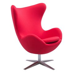 Skien Occasional Chair in Red