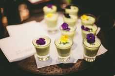 Spring Pea Soup with Lavender Yogurt and Mint paired with a 2012 Arndorfer Grüener Veltiner Reserve