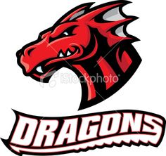 This is a simplified illustration of a Dragon Head. Professional Learning Communities, Dragon Head, Free Vector Art, Illustration, Dragons, Royalty, Crafty, School, Image
