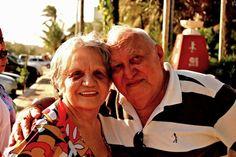 Minha nascente... mãe e pai...
