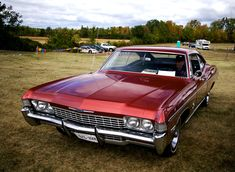 Red Chevy Impala