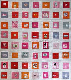 What a beauty....I Spy...by Mama Love Quilts!