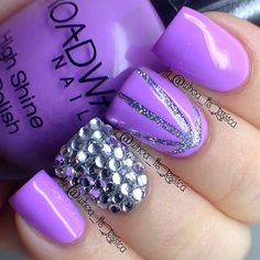 http://trendy4.com/...  | See more nail designs at http://www.nailsss.com/french-nails/2/