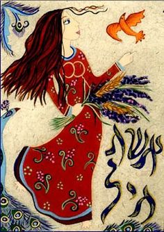Chayil ~ A Woman of Valor, called Eshet Chayil in Hebrew.