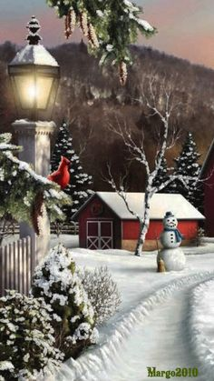 Christmas gif`s animated pictures. Christmas Scenes, Noel Christmas, Merry Christmas And Happy New Year, Vintage Christmas Cards, Country Christmas, Christmas Pictures, Christmas Greetings, Christmas Lights, Christmas Crafts