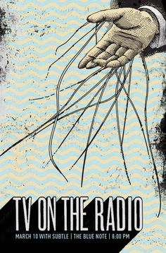 Indie Band Posters | Indie Band Gig Posters by Garrett Karol « TYPOGRAFFIT : BLOG