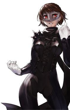 Persona 5 Makoto Niijima/Queen Persona 5 Makoto, Persona 5 Anime, Persona 4, Makoto Niijima, Character Art, Character Design, Shin Megami Tensei Persona, Fanart, Animation