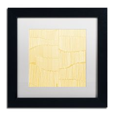 Kavan & Co 'Spaces Between II' Framed Matted Art (11 x 11 Wood Frame)