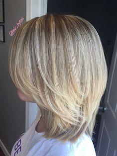 Medium Hair Cuts, Short Hair Cuts, Medium Hair Styles, Short Hair Styles, Manicure E Pedicure, Haircut And Color, Layered Hair, Great Hair, Hair Today