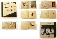 Arthur Barrio - caderno artista