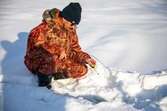 Keeping Safe: Top Ice Fishing Safety Tips, As Winter Lakes Freeze. As Old Man Winter roars in with his cold blasts of arctic air fishermen eagerly await the process of growing ice on lakes and ponds over much of the midwest. Slingshot Fishing, Ice Fishing Lures, Pike Fishing, Fishing Life, Fishing Humor, Bass Fishing, Hunting Bows, Arctic Air, Fishing Gloves