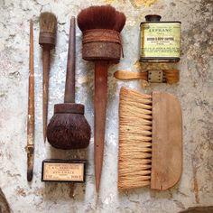 Malerens værktøj - vintage tools for the house  painter