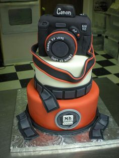 Camera Cake for Photographer The Cake Gallery - Hobbies - Kingsport, TN