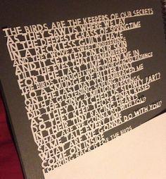 Elbow lyrics-The Birds