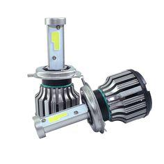 뜨거운 자동차 스타일링 속 자동차 헤드 라이트 H4 H1 H7 H8 H9 H11 9005 9006 880 881 40 와트 8000LM 6000 천개 헤드 키트 DRL 안개 램프 전구