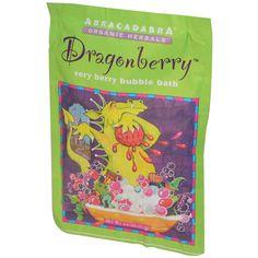 Abra Therapeutics, Dragonberry Very Berry Bubble Bath, 2.5 oz (71 g)