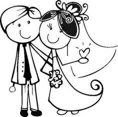 Image result for dibujos animados para invitaciones de boda