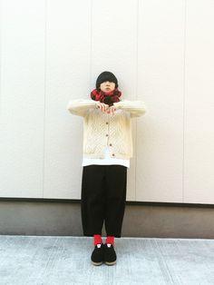 古着のカーディガンを使ったnanikaのコーディネートです。WEARはモデル・俳優・ショップスタッフなどの着こなしをチェックできるファッションコーディネートサイトです。