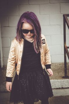 purole hair, rock on, punk rock fashion, kids who rock, lil xo kings, browntowngirls, astyledmess
