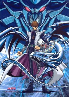 Seto Kaiba/blue eyes white dragon print/poster/anything else you could think of lol