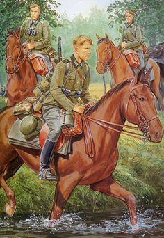 Pinturas II Guerra Mundial — 1945 04 Austria, last battle - Ron Volstad - box. Military Art, Military History, Operation Barbarossa, Military Drawings, German Uniforms, Ww2 Uniforms, Ww2 Posters, Germany Ww2, Ww2 History