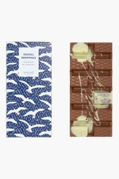 Deliciously moreish luxury chocolate, handmade in Cornwall for Seasalt. Made with sustainably sourced cocoa in a variety of mouth-watering flavours. Clever Packaging, Packaging Design, Luxury Chocolate, Whole Milk Powder, Cream Tea, Handmade Chocolates, Comfort And Joy, Chocolate Packaging, Bank Holiday Weekend