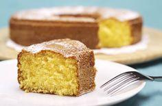 Ciambellone al limone senza uova, latte e burro