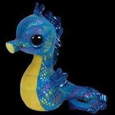 TY BEANIE BOO BOOS NEPTUNE THE SEAHORSE MWMT 6 INCHES NEW 2014 PRE-SALE #Ty