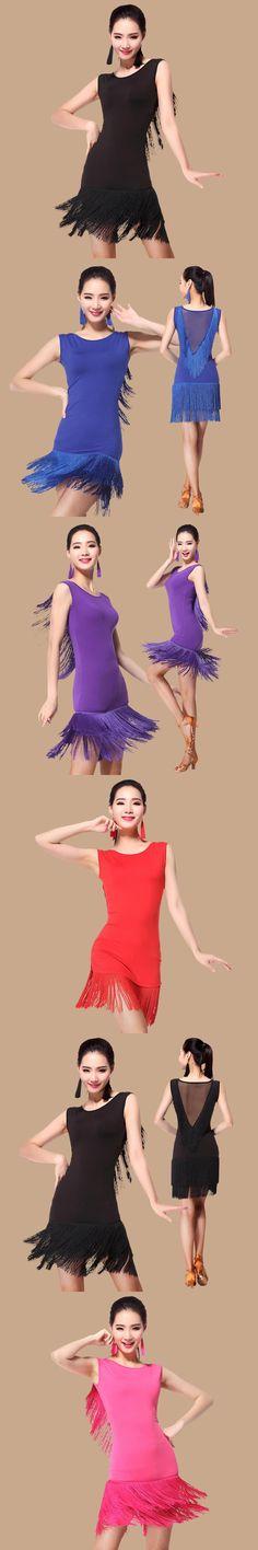 Latin Dance Skirt For Women 2017 New Arrival Summer Lycra Professional Samba Rumba Dancing Costume Adult Latin Dress