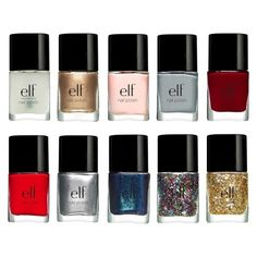 e.l.f. 10pc Nail Set - Available this holiday at Target! #TargetStyle #elfholiday