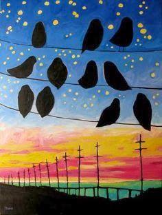 shine brite zamorano: sunset skies.