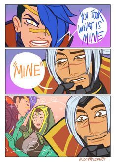 a v a c a d o s - League of Legends League Of Legends Comic, League Of Legends Characters, Liga Legend, Comic Anime, League Memes, What Is Mining, Funny Images, Funny Relatable Memes, Best Memes