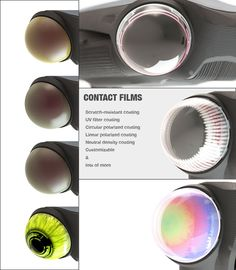 VARIOUS FILTERS CAN BE CUSTOMIZED