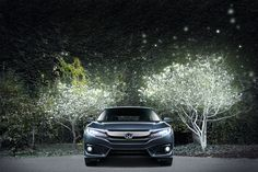 The all-new 2016 Civic's available LED headlights are just one of the many features that make it so distinctive.