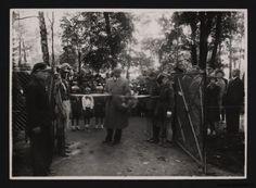 Park Bronowice- Otwarcie ogródka dziecięcego 1935 r. Park, Historia, Parks