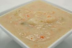 Chunky Potato Soup - You don't need butter, cream, bacon, and cheese to enjoy a tasty potato soup! This recipe proves it. It's one of the most popular dishes from my book, The Ultimate Guide to the Daniel Fast. www.ultimatedanielfast.com