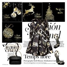 """""""Merry Christmas ❤️"""" by shaneeeee ❤ liked on Polyvore featuring Hedi Slimane, Kenzo and Victoria's Secret"""