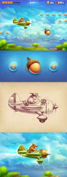 Dribbble - iOs_game_-_making_of.jpg by Mike | Creative Mints