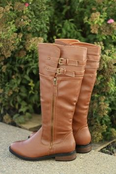 Double Buckle Chestnut Rider Boots http://www.nanamacs.com/double-buckle-chestnut-rider-boots/