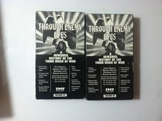 Lot of 2 THROUGH ENEMY EYES Vol. 57 an 81 Vhs