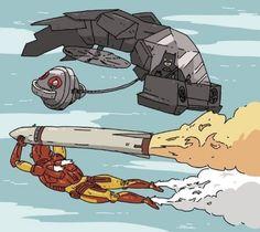 ironman vs batman | Películas diferentes, héroes parecidos con problemas iguales