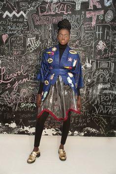Selly Raby Kane: Dakar City of Birds - FW 15/16 | African Prints in Fashion